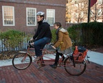 Olivia and Jon Bike