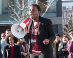Dehlia Umunna at HLS Solidarity Rally