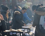 Students Gather for Harvard Skate Kickoff