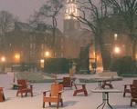 Snow Prevents Travel