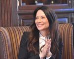 Lucy Liu at Kirkland