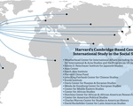 Map of Harvard's Cambridge-Based Centers of International Study
