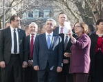 The Armenian President Visits