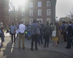 """GSAS Students Protest About the """"Leaky Pipeline"""""""