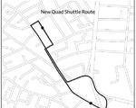 New Quad Shuttle Route Map