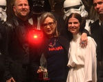 Carrie Fisher Accepts Humanist Award